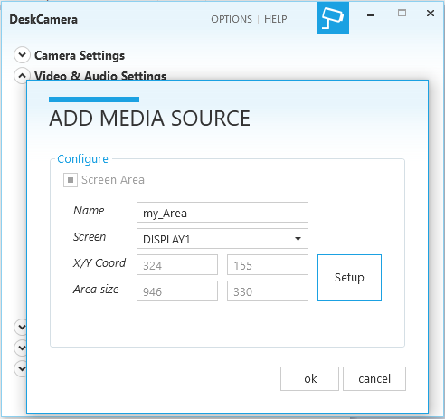 DeskCamera 3.2.0 – Crop Desktop