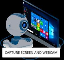 DeskCamera captures screen and webcam to VMS