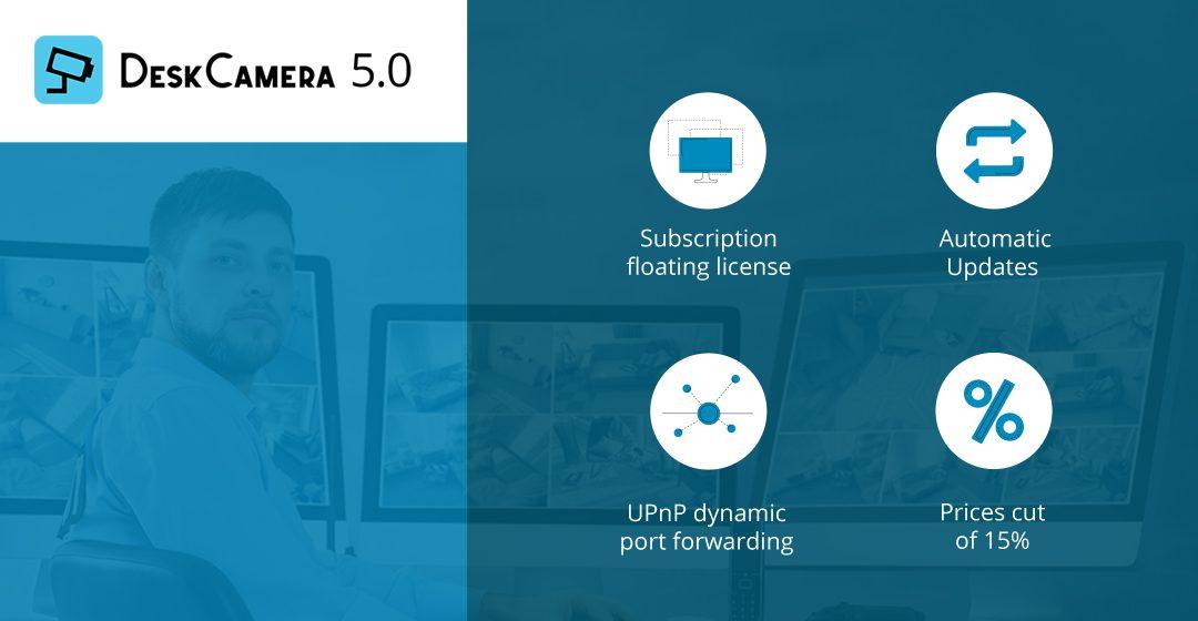 DeskCamera 5.0 released